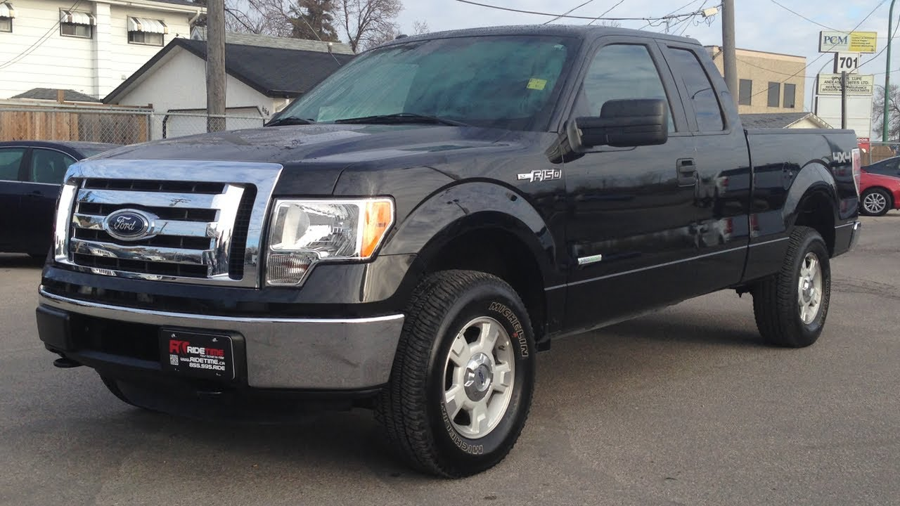 2012 ford f 150 xlt winnipeg mb supercab 3 5l v6 ecoboost 4x4