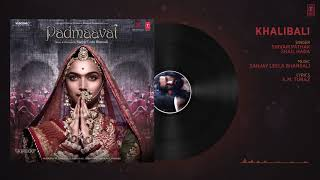 Khalibili Full Song Padmavat
