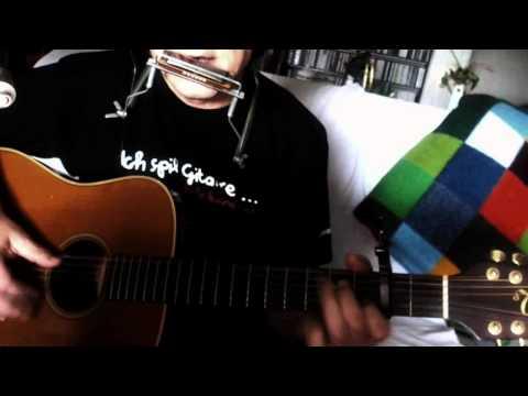 Wann wird´s mal wieder richtig Sommer ~ Rudi Carrell - Creme 21 ~ Cover Takamine EN-10 & Bluesharp