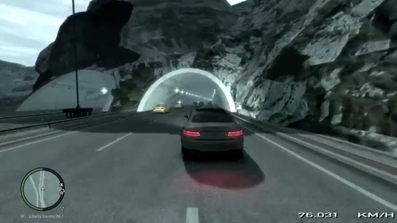 GTA IV Driving Part XXIII Mercedes S500 Coupe 2010 French Riviera