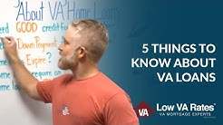 5 Things You Might Not Know About VA Home Loans