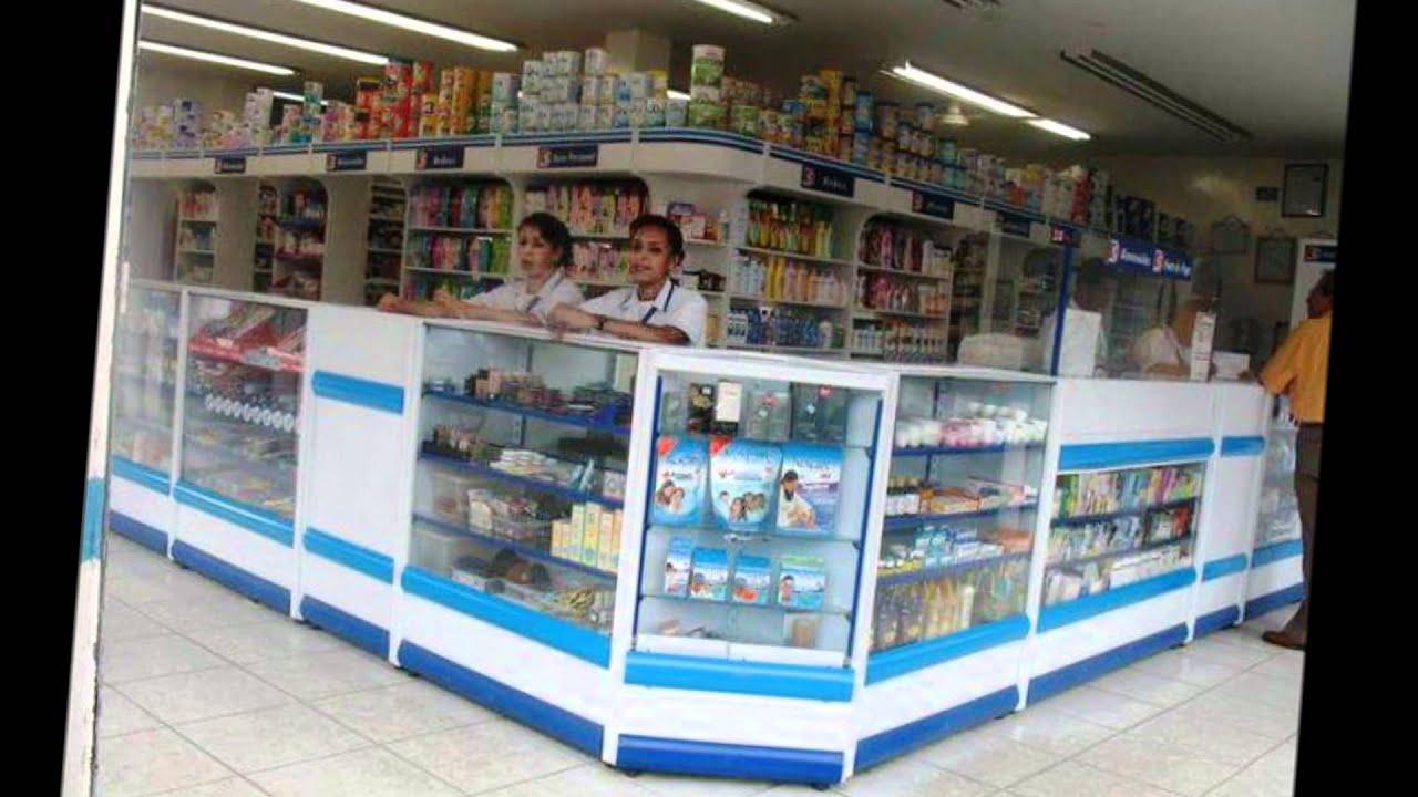 Mobiliario para drogueria youtube - Decoracion farmacias ...
