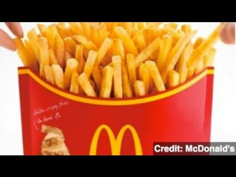 Mcdonald S Offers Ludicrous Mega Potato French Fries Youtube