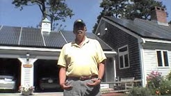 Very Pleased with his Solar Electric installation by My Generation Energy, Inc. Brewster MA Cape Cod