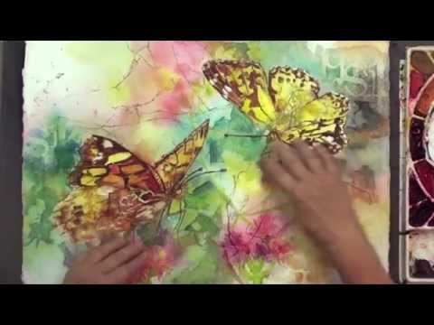 Preview | Watercolor Making Your Mark, Part 8, with Karlyn Holman