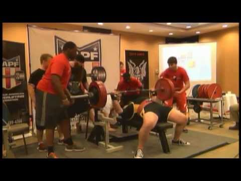 2015 AAPF Nationals Day 3 Bench