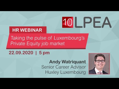 HR Webinar: Taking the pulse of Luxembourg's Private Equity job market