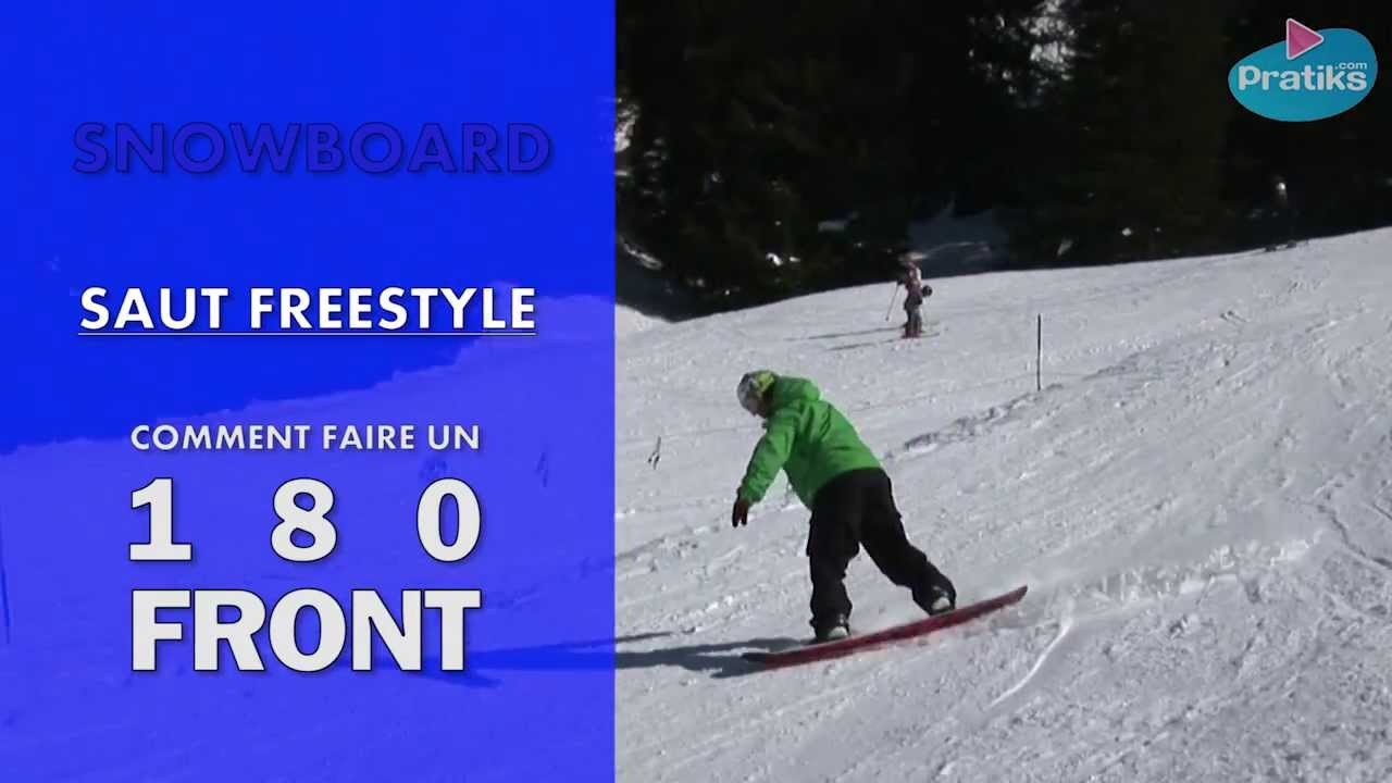 photo comment faire 180 en snowboard