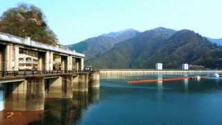 4K Okutama Lake in Spring ~奥多摩湖
