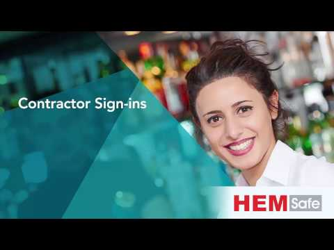 HEMSafe - Contractor Sign-ins (Mobile)