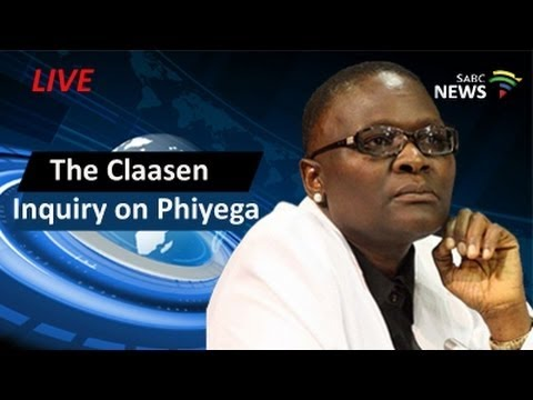 The Claassen board of inquiry on Phiyega, 3 May 2016 Part 2