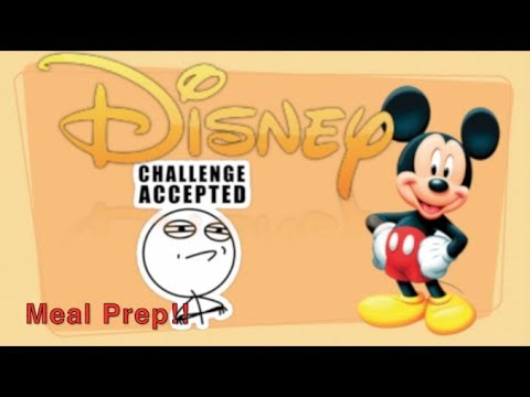 🏃🏻🏃meal-prep--disney-fitness-/-weight-loss-challenge