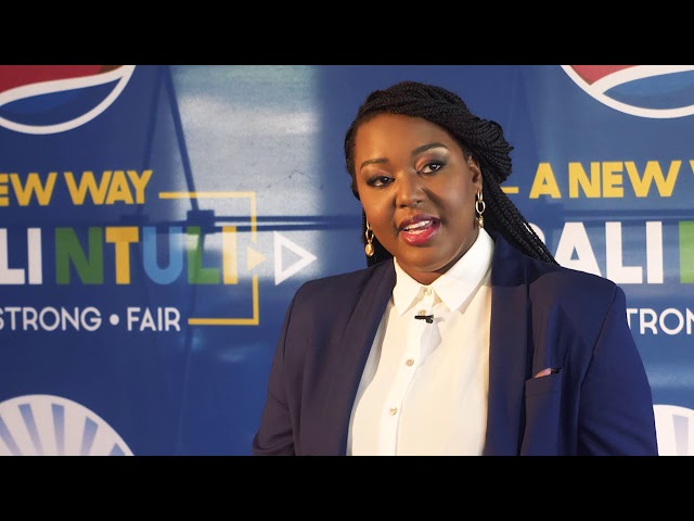 Mbali Ntuli's Official Candidacy Announcement Press Conference