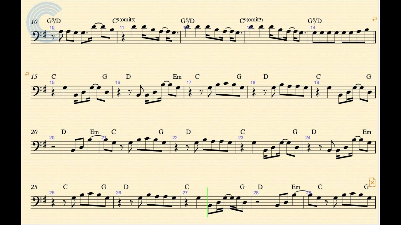 double bass jazz sheet music pdf