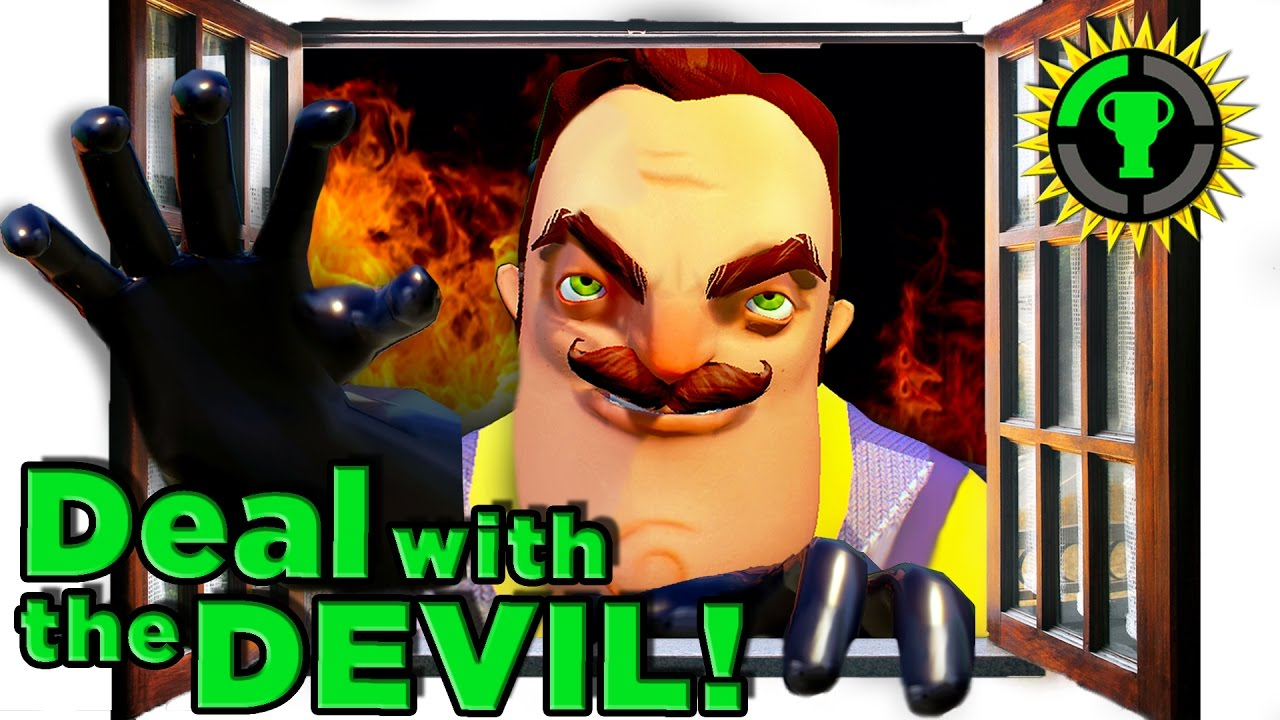 Game Theory: Hello Neighbor's SATANIC Plot!