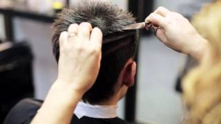 Мужская стрижка 3. Решаем проблему высокого роста волос.