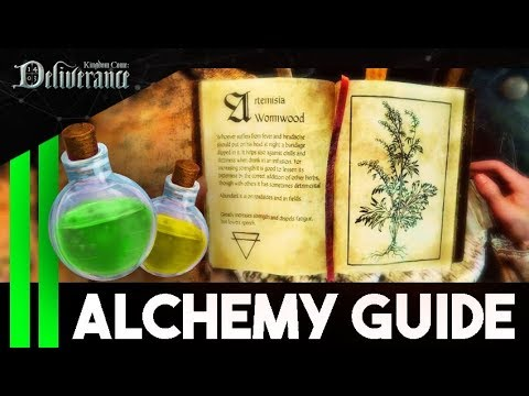 Complete ALCHEMY GUIDE - Unlimited Money And Saves - Kingdom Come Deliverance