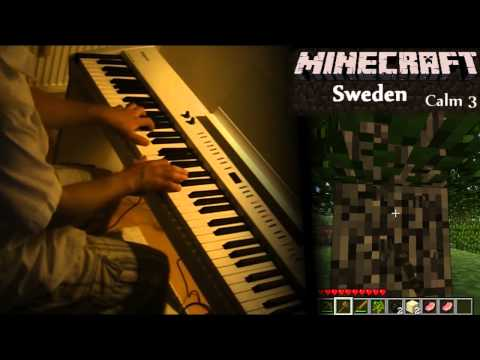 Minecraft Piano: Calm - Minecraft, Sweden, Clark [Sheet Music]
