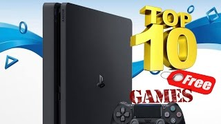 Топ10 бесплатных игр Ps4
