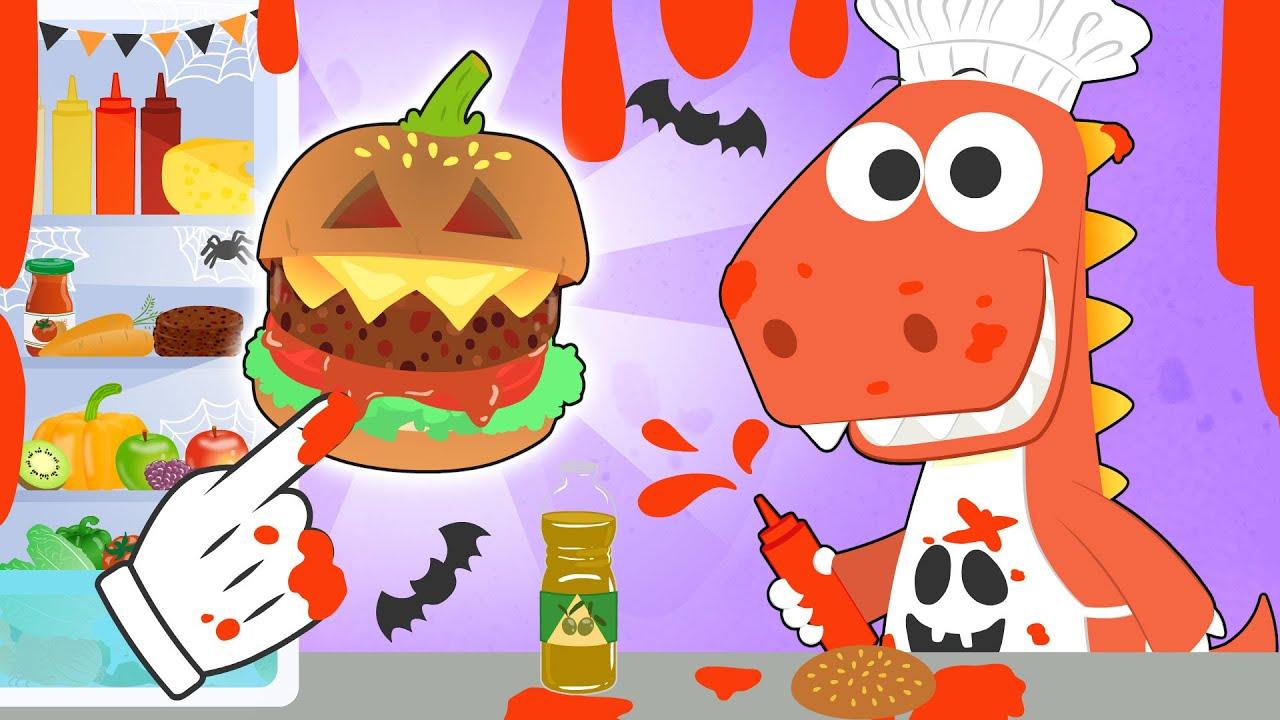 Download Aprende con Eddie 🍔🎃 A cocinar Hamburguesa de Halloween