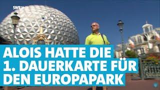Alois Braun ist der treueste Fan des Europaparks Rust