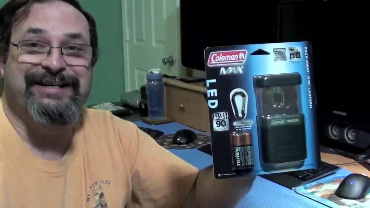 Coleman Pack Away Mini Lantern