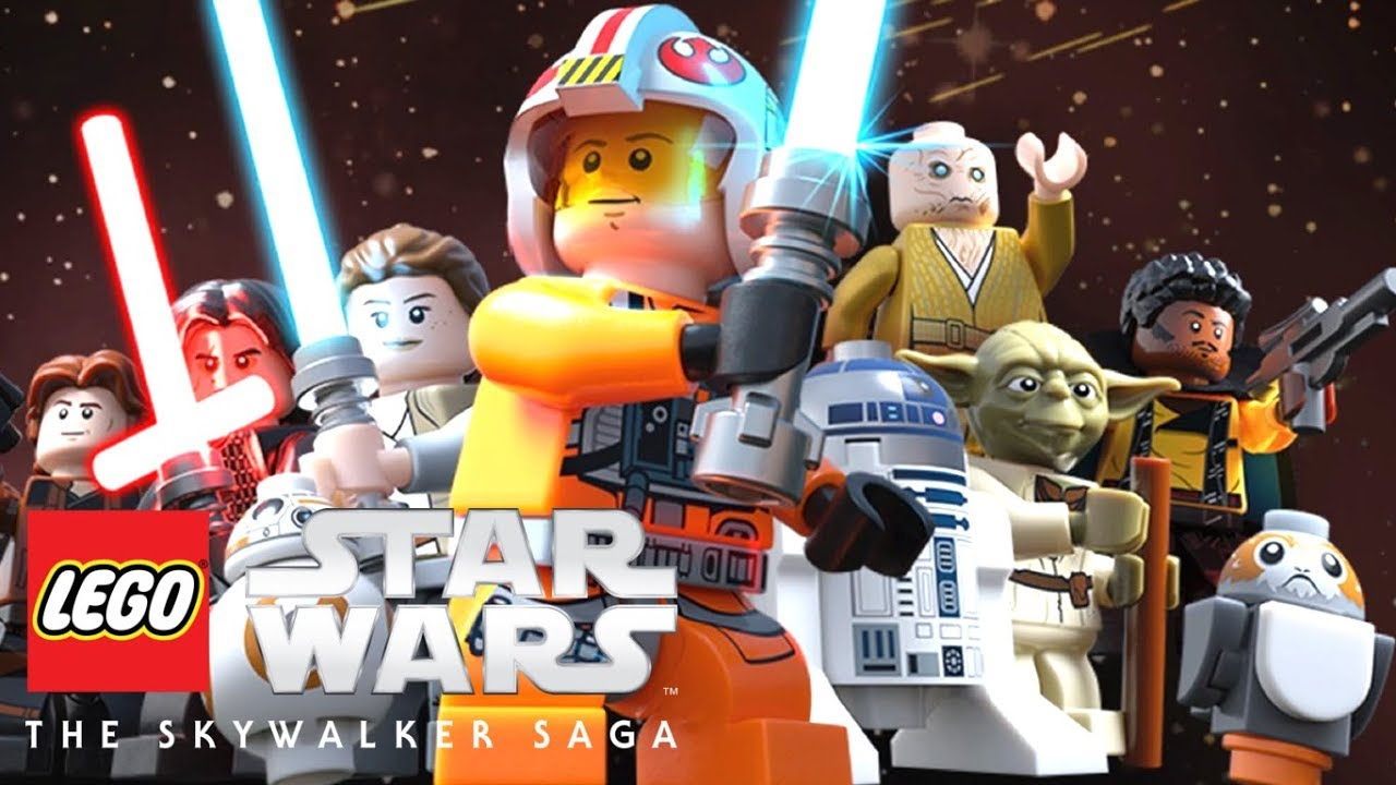 Image result for lego star wars the skywalker saga