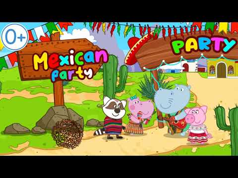 Mexican party. Cooking game for Kids