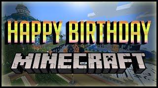 Happy Birthday Minecraft // 10 Years Old // Minecraft
