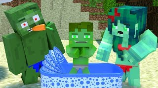 Best love story Minecraft animation Life of Zomma & Zombo # 2