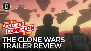 Star Wars: The Clone Wars TV Show is Coming Back! - SDCC 2018
