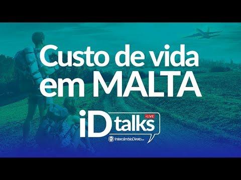 iDtalks LIVE | CUSTO DE VIDA EM MALTA