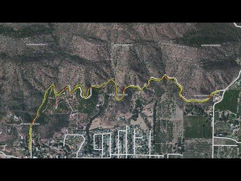 Shelf Road  Trail -- Ojai, CA