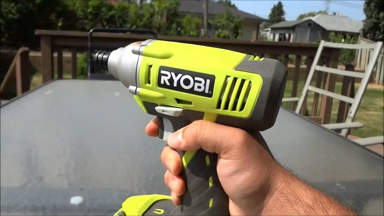 Ryobi Cordless Impact Driver Review P234g 18v