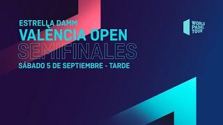 Semifinales Tarde - Estrella Damm València Open 2020  - World Padel Tour