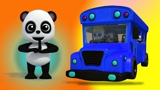Колеса на автобусе   Детская рифма   Preschool Poetry   Babies Rhyme   Kids Song   Wheels on the Bus