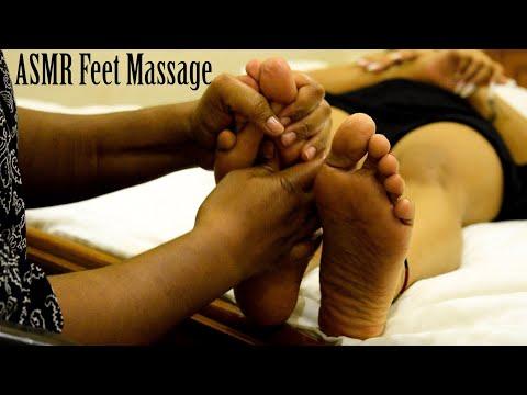 Foot Reflexology   Bed time Foot Massage   ASMR