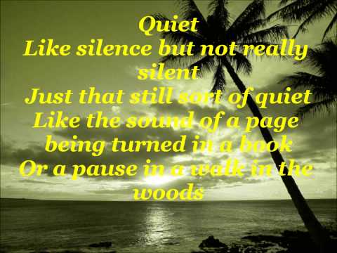 Matilda: Quiet