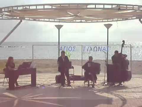 Music in Cyprus ROMANTIC QUARTET La Cumparsita.avi