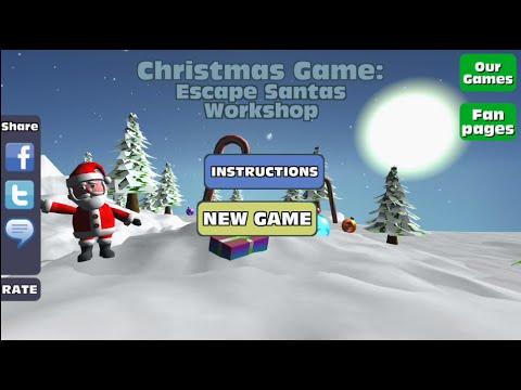 santas workshop game website