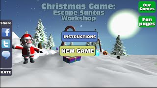 Christmas Game Escape Santas Workshop - Walkthrough