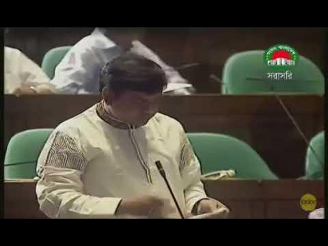 Pir misbah mp at Bangladesh parliament on 11 june 2019