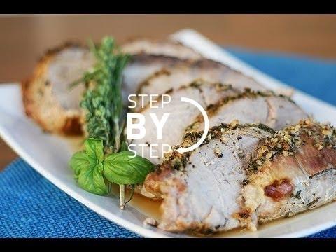Garlic Herb Crusted Roast Pork Loin Recipe, How to Make Garlic Herb Crusted Pork Tenderloin