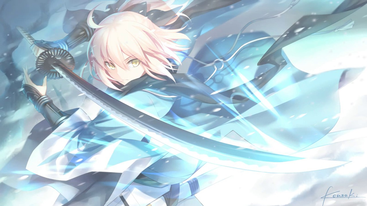 Live Wallpaper F Go Okita Souji Youtube