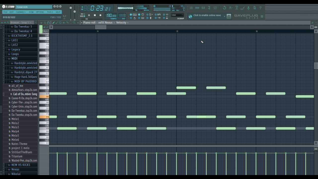 Call Of Duty Black Ops Zombies Theme COVER IN FL STUDIO