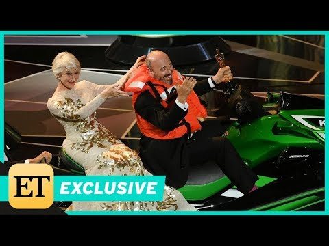 2018 Oscars: Mark Bridges Says Winning the Jet Ski Was an Accident! (Exclusive)