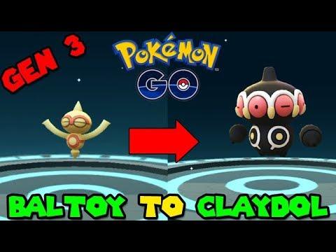 Evolving Baltoy To Claydol Pokemon Go Gen 3