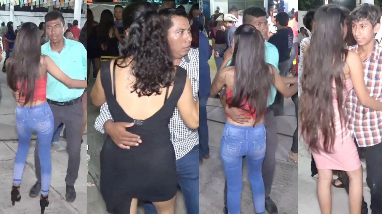 Nos Encontramos Unas Guapas Mujeres En El Bailazo En Ajuchitlan Del Progreso Guerrero