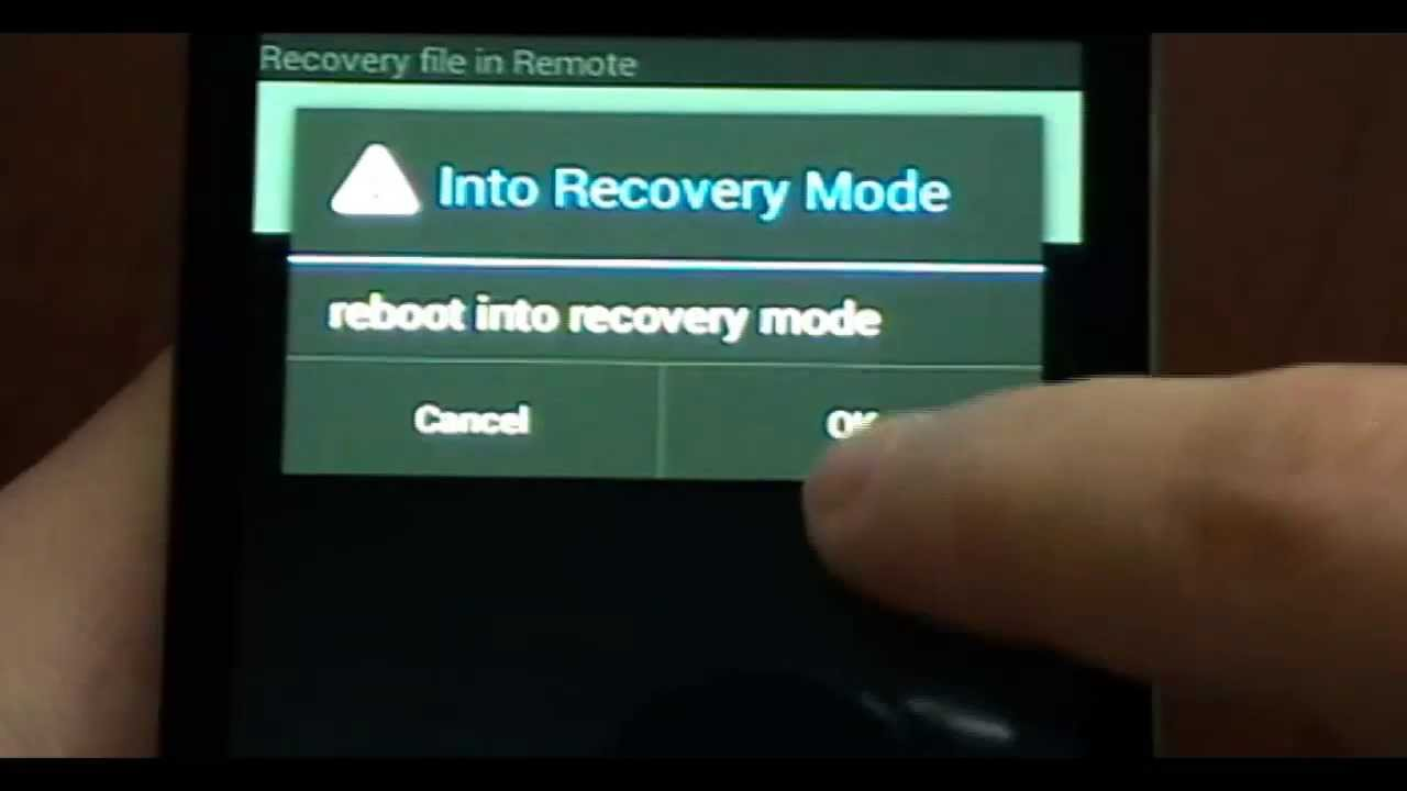 how to close twrp revovery