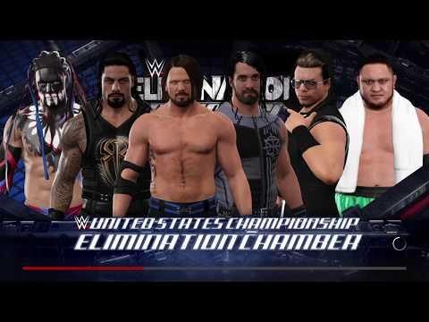 WWE 2K17 - Elimination Chamber match